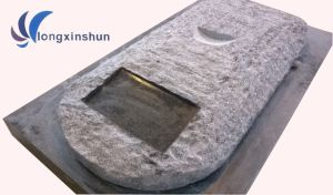 Customized Handmade Carving G654 Black Granite Sculpture pictures & photos