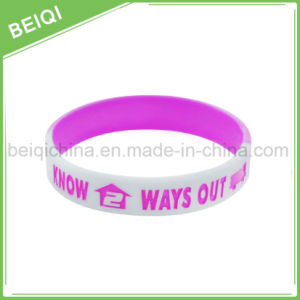 Promotional OEM Custom Cheap Custom Silicone Bracelet/Wristband pictures & photos