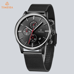 Stainless Steel Waterproof Wristband Fashion Sport Quartz Men Watch 72188 pictures & photos