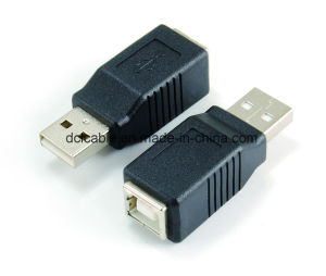 USB2.0 a Female to B Female Adapter pictures & photos