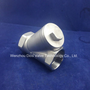 800wog Stainless Steel Y Type Filter Manufacturer in China pictures & photos