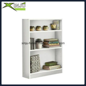 White/Black Functional Wooden 3 Layer Shelf