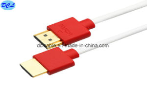 1.4V Slim HDMI Cable Gold Plated pictures & photos