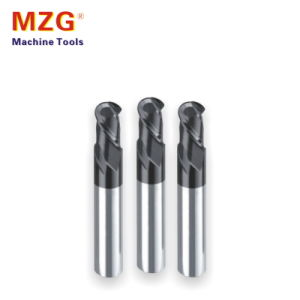 Two Edge Tungstan Ball Head End Milling for Aluminium Processing pictures & photos