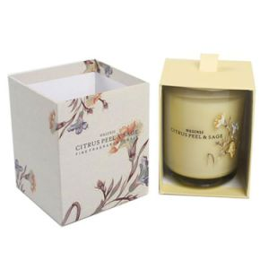 Home Fragrance Scented Soy Candle in Glass Jar with Box