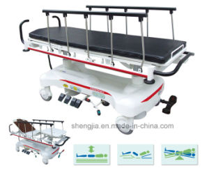 Sjm007 Luxurious Electric Rise-and-Fall Stretcher Cart