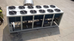 Low Noise Air to Water Cooling Industrial Packaged Chiller System pictures & photos
