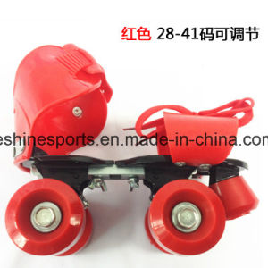 China Adjustable 4 Wheel Roller Skating Shoes with Low Price - China ... 2fbb66dd5d