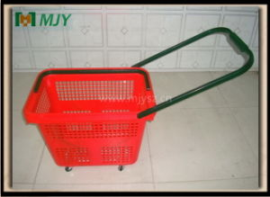 Plastic Rolling Basket Mjy-Tr05 pictures & photos