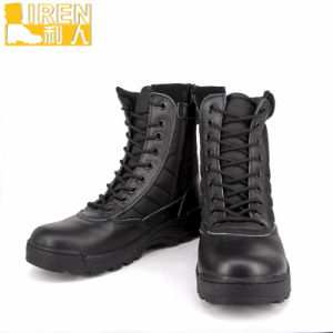 New Design Genuine Leather Waterproof Fashionable Military Jungle Boot pictures & photos