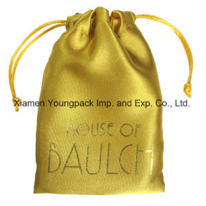 Promotional Custom Printed Small Drawstring Organza Packing Bag Fashion Velvet Jewellery Packaging Bag Cellphone Bag Luxury Satin Fabric Gift Pouch Jewelry Bag pictures & photos