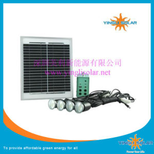 Solar Power Kit with 4PCS Portable LED pictures & photos