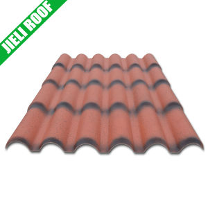 PVC Material Large Corrugated Plastic Roofing Sheets for Villa pictures & photos