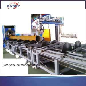 china roller bed type cnc plasma steel pipe cutting machine china