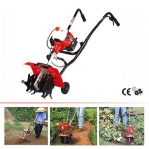 49.5cc Gasoline Power Tiller Cultivator pictures & photos