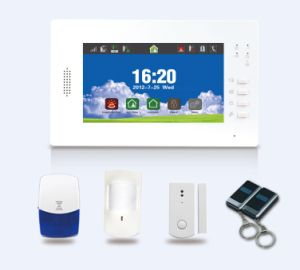 Wired Wireless GSM Alarm System with Door Bell Function (ES-X6) pictures & photos