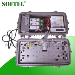 1GHz Outdoor Fiber Optical Node with 4 Outputs pictures & photos