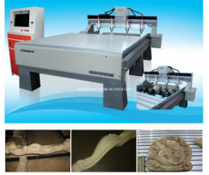 4 Spindle 4 Axis CNC Rotary Engraver for Making Wooden Furniture