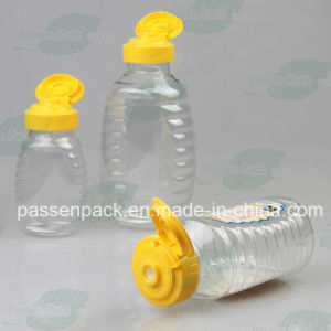 150g Pet Squeeze Honey Bottle with Silicone Valve Cap (PPC-PHB-08) pictures & photos
