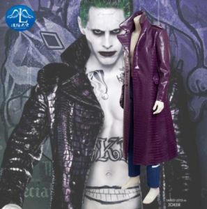 Manluyunxiao New Men S Suicide Squad Joker Costume Halloween Carnival Party Cosplay Costumes For Men Custom Made Full Set