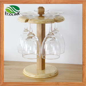 Natural Bamboo Wine Glass Rack / Cup Rack for Table Decoration pictures & photos