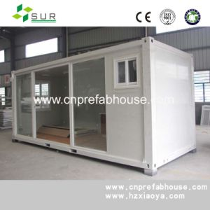 Insulation Office 20ft Prefab Container House pictures & photos