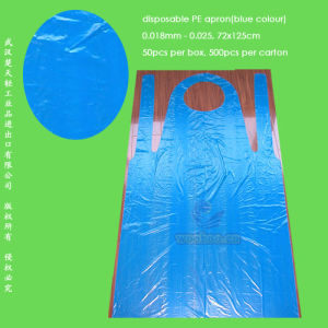 Disposable Water-Proof PE Apron pictures & photos