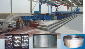 Aluminum Alloy Rod Continuous Casting and Rolling Machine Line
