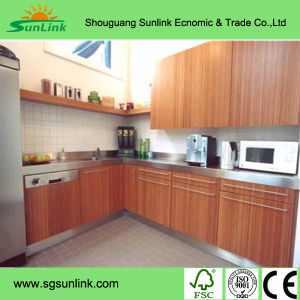 Laminated Chip Board Plywood Display Kitchen Cabinets for Sale