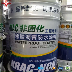 Self-Healing Non-Curing Liquid Rubber Modified Asphalt Waterproof Coating
