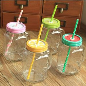 16 Oz High Quality Mason Glass Bottle/ Glass Container/Drinking Glassware pictures & photos