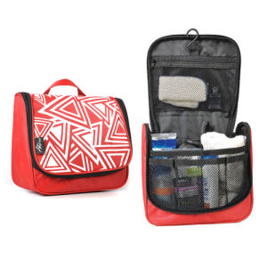 Wholesale Girl Women Travel Hanging Toilet Toiletry Bathroom Washromm Bag Kit Organizer pictures & photos