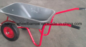 Wheel Barrow Wb5009t Double Wheel Russia pictures & photos