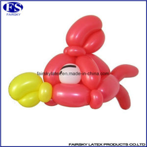 High Quality Colorful Long Shaped Magic Latex Balloon pictures & photos