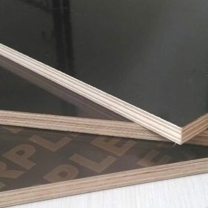 Plywood Board with Brown Film for Construction Formwork
