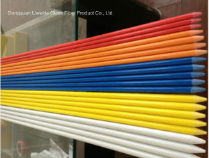 High Strength Pultruded Fiberglass Plastic Stake Rods