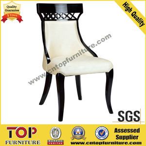 Leather Solid Wood Dining Chair (CY-3503) pictures & photos