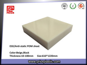 Ivory Color ESD Delrin Sheet for Testing Fixtures pictures & photos
