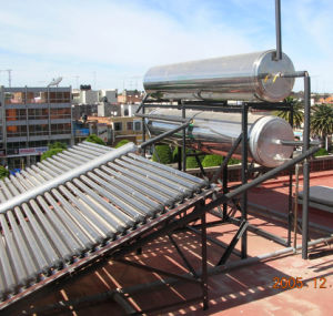 Horizontal Solar Collector Non Pressurized (SPCF) Electric Water Heater Project for Swimming Pool (SPCF-58/1800-48) pictures & photos