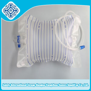 2000ml Urine Bag / Drainage Container with T-Valve pictures & photos