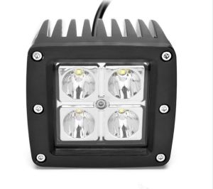 New Style 4D Lens 12V White LED Work Light pictures & photos
