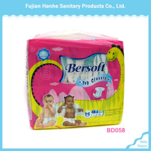 Baby Diaper with PE Breathable Backsheet
