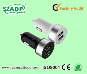 Wholesale Dual Port USB Car Charger pictures & photos