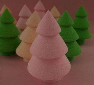Tree Shape Makeup Sponge Puff with Top Quality