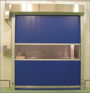 Stainless Steel Clean Room Automatic Fast Acting Door (ST-001) pictures & photos