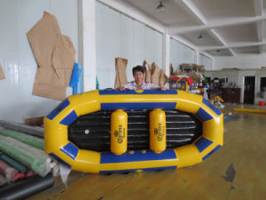 1.0mm PVC/TPU Inflatable Raft/ Inflatable White Water Rafting/ Inflatable Raft Boat for 2-12 Person Used pictures & photos