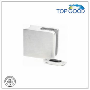 Square Glass Clamp with Plate