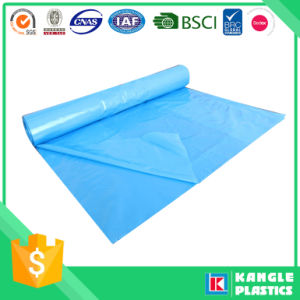 Plastic Flat Bottom Seal Trash Bag on Roll pictures & photos