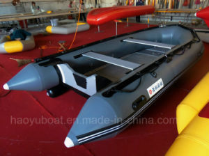 14feet Military Boat for Sale, Sports Boat, Luxury Inflatable Boat with PVC or Hypalon Aluminum Floor pictures & photos