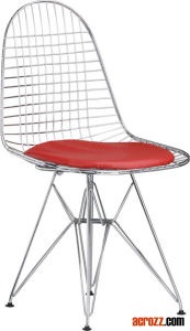 Dining Furniture Eames Dsr Chrome Wire Chair pictures & photos